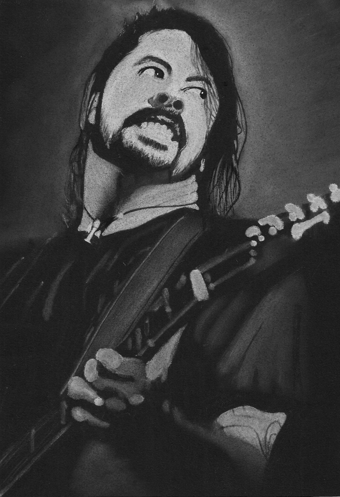 Dave Grohl by wpascal